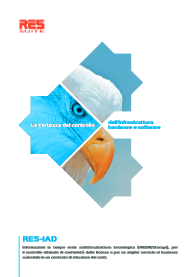 Brochure RES-IAD ITA