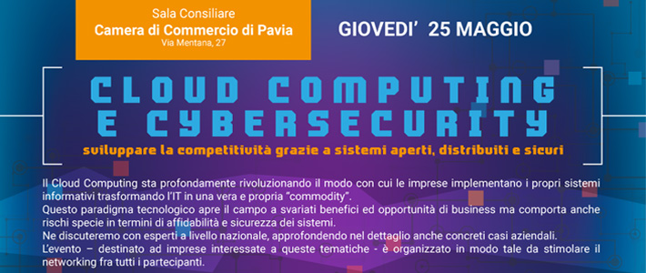 "RIDS partecipa all'incontro ""CLOUD COMPUTING E CYBERSECURITY"""