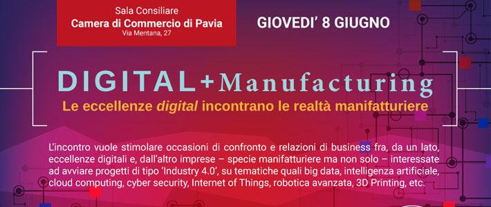 """RIDS partecipa all'incontro """"DIGITAL + Manufacturing. Le eccellenze digital incontrano le realtà manifatturiere"""""""