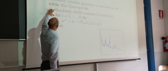 Seminario RES agli studenti della Facoltà di Matematica dell'Università di Pavia
