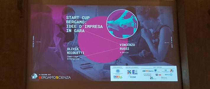 RES in giuria alla finale di Start Cup Bergamo 2017